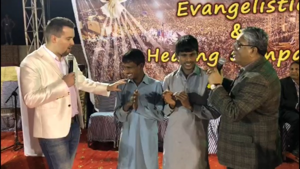 Blindness from birth healed by Jesus